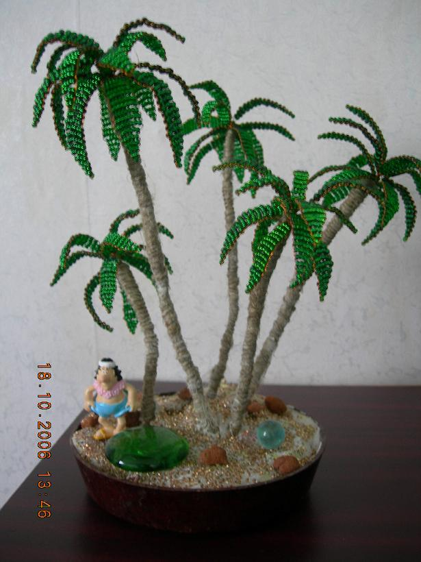 Пальма своими руками мастер класс фото